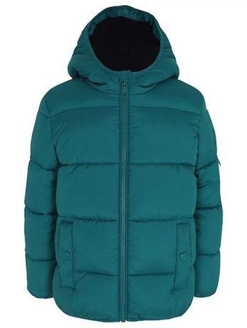 Теплая куртка на флисовой подкладке geоrge англия 4-5 лет