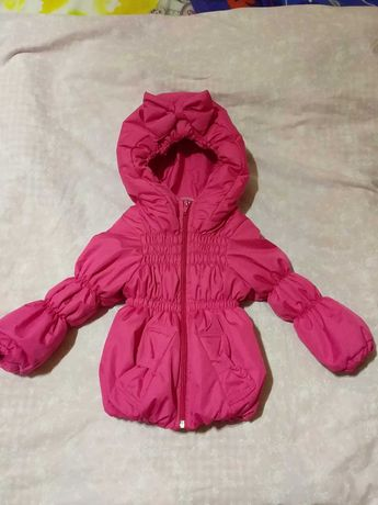 Весенняя курточка на девочку 10-18 месяцев