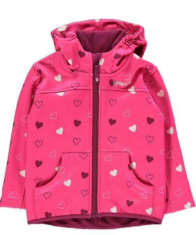 Куртка ветровка на флисе софтшелл  Gelert 110-116 softshell