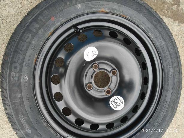 Диск r16 рено з шиною