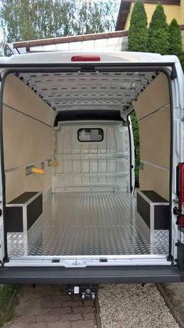 Renault Master L1H1 podłoga i boki