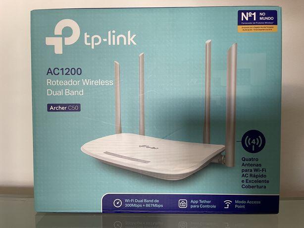 Modem TP-Link novo na caixa