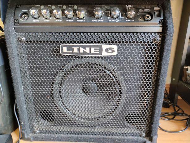 Line 6 Low Down LD15 amplificador para baixo