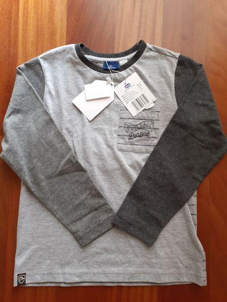 T-shirt NOVA da Chicco para 7 anos.