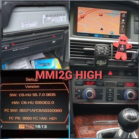 Spolszczenie Audi MMI2G RNSE Q7 A6 A8 A4 nawigacja polskie menu