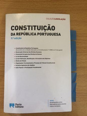Constituição da República Portuguesa - Porto Editora