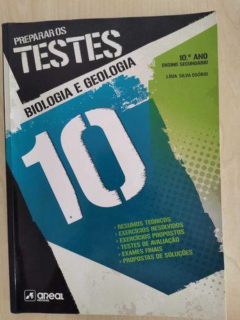 Livros Preparação de Testes Biologia 10