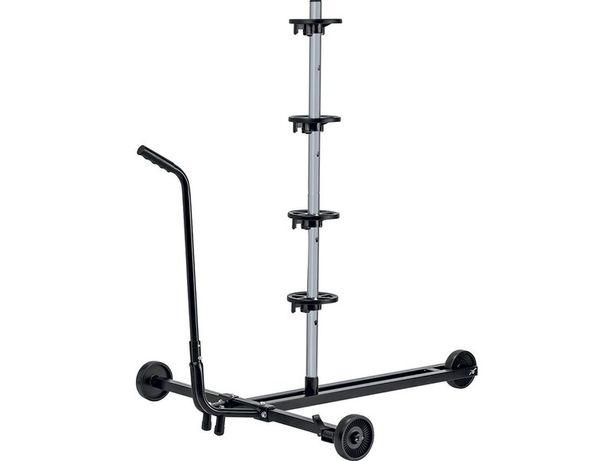Mobilny stojak na opony