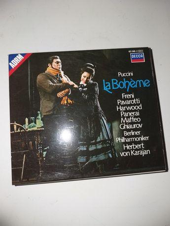 Dwie nowe płyty CD,Puccini,Pavarotti itp.