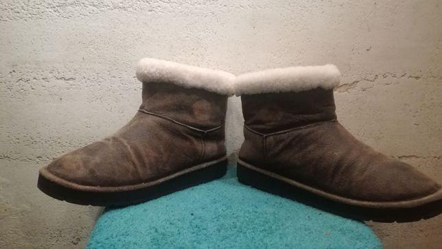 Kozaki śniegowce MICHAEL KORS r.39 skóra