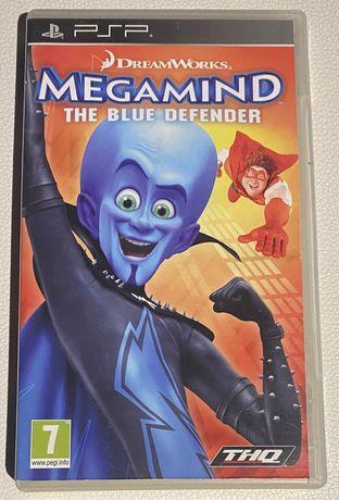 """Jogo PSP """"Megamind, the blue defender"""""""