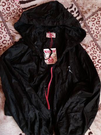 Новая женская куртка, ветровка, Evisu
