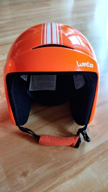 kask narciarski Wedze H400 Jr regulowany 53-56 cm stan bardzo dobry