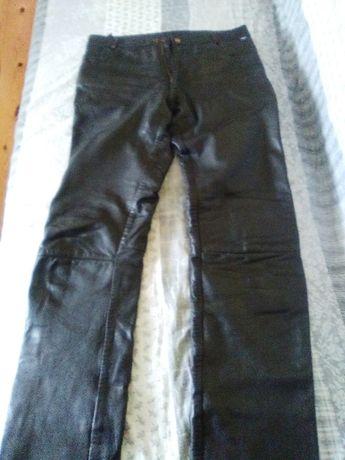 spodnie skórzane firmy jofama