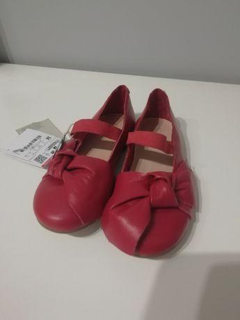 Nowe skórzane buty Zara roz 24