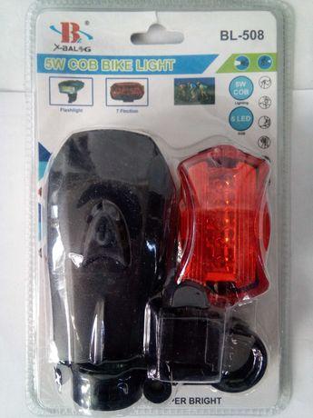 Ліхтарик велосипедний BL508 комплект передній задній