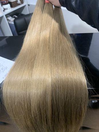 Натуральные донорские волосы для наращивания.  Славянский тип волос