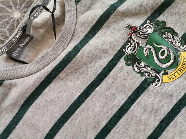 Niespotykana bluza sweterek Harry Potter D Malfoy Slytherin 6/8 34-36