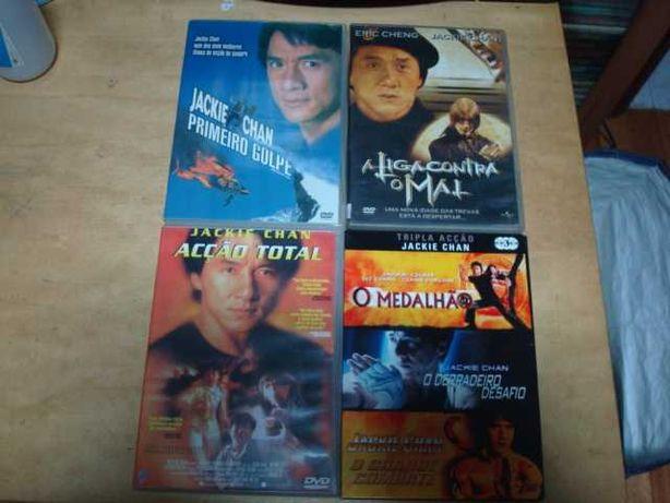 16 dvds originais jackie chan , piratas dos mares da china etc