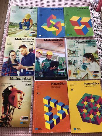Livros de matematica (ensino profissional)