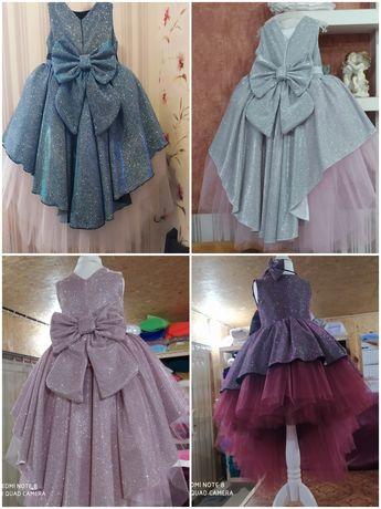 Платье плаття сукня випускне фатинове новое бальне на 5 6 7 9 10 років