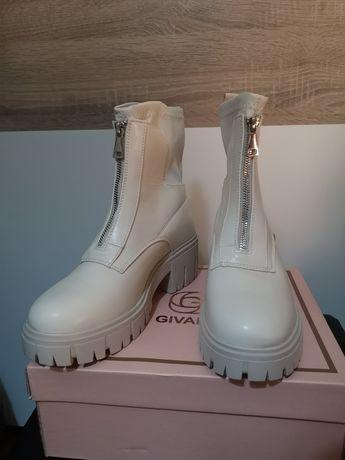 Vendo botas bege
