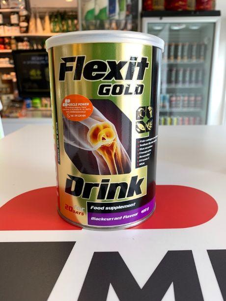 NUTREND Flexit Drink Gold - 400g na stawy, odżywki i suplementy