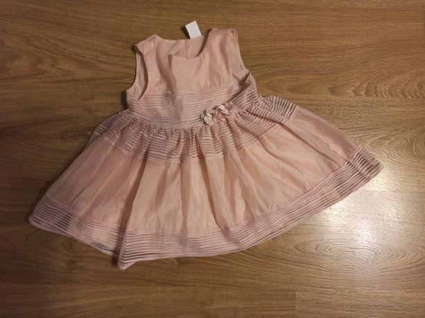 Sukienka dziewczęca H&M rozmiar 86