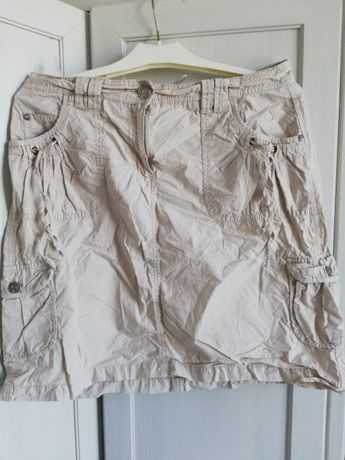 Spódnica bezowa na lato roz 40 L