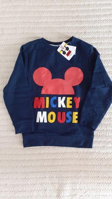 Sweat-shirt Mickey NOVA cardada 7-8anos
