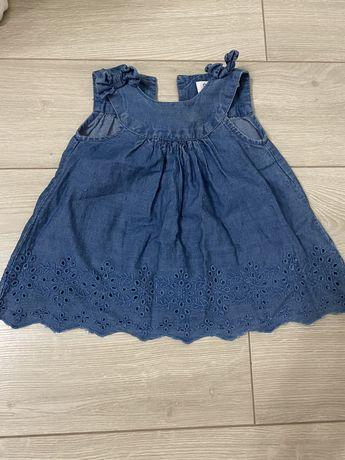 Платье minoti 68-74см