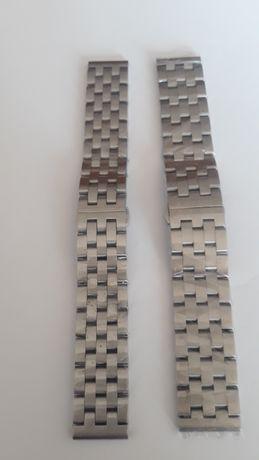 Bracelete Relógio Metal Solida Engineer 22mm 20mm Fecho Borboleta
