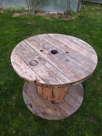 Stolik stół ogrodowy szpula bęben po kablu