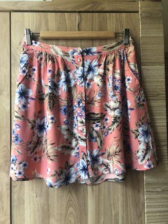 New look spódniczka letnia w kwiaty