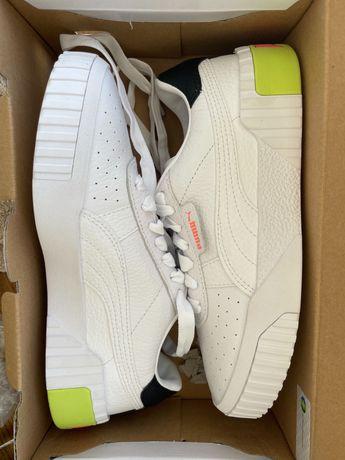 Кеди Puma white-Nrgy peach