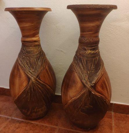 2 jarrões loiça
