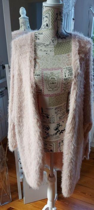 Nowy sweterek puchaty pudrowy róż Mohito rozm. L 40 Grudziądz - image 1
