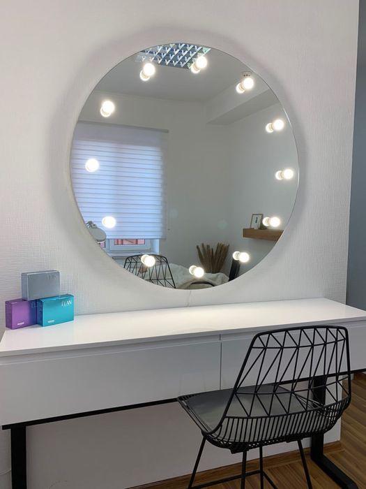Зеркало круглое для макияжа, make up Черновцы - изображение 1
