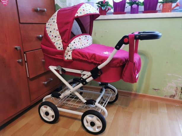 Wózek dla lalki + pościel