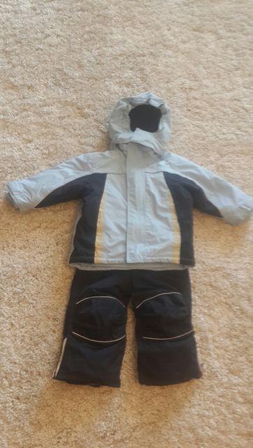 Термо Комплект зимовий .Штани на шлейках і курточка.