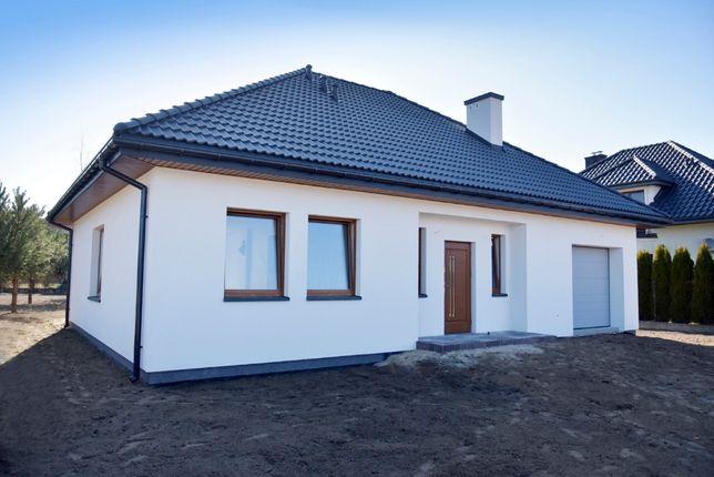 Piękny dom o podwyższonym standardzie 107m2 + 60m2 adaptacja poddasza.