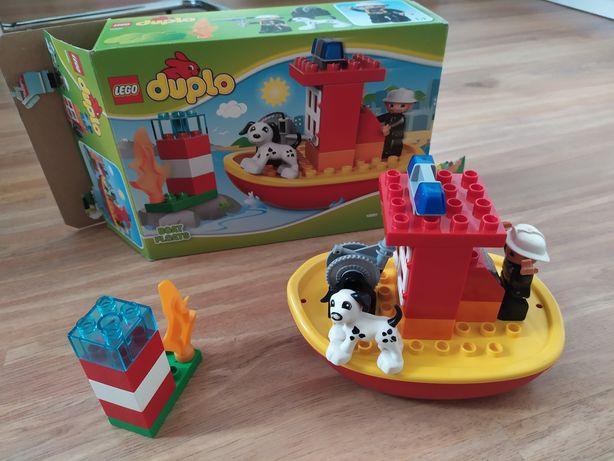 LEGO Duplo 10591 łódź strażacka
