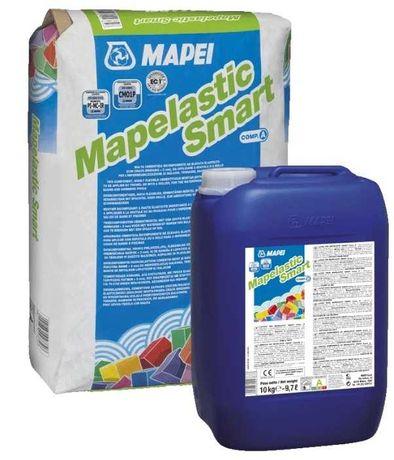 Эластичная гидроизоляция Mapei Mapelastic Smart A/B 30 кг.