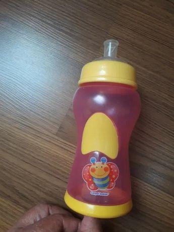 Butelka Canpol Babies ze smoczkiem do kaszek