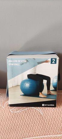 Bola de pilates + elástico