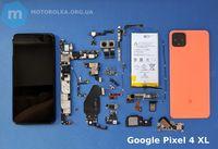 Детали запчасти для Google Pixel 4 и 4 XL разборка гугл пиксель