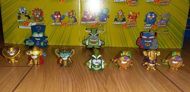 Super zings ultra rzadki,złote figurki i magnesy