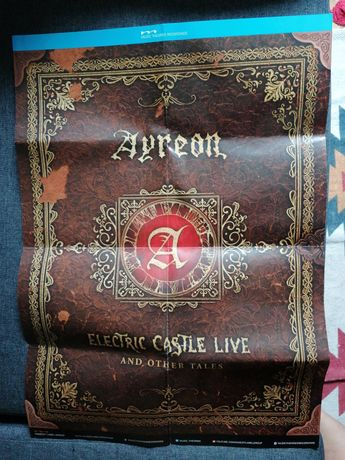 Poster Ayreon Electric Castle Live