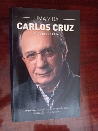 """Livro """"Uma vida - Carlos Cruz"""""""