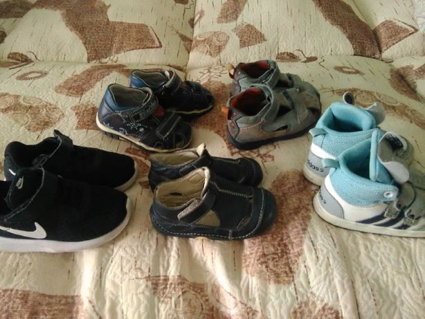 Босоножки, ботиночки, кроссовки Nike, Еcco, Adidas. (оригинал)